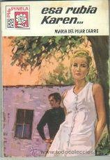 PIMPINELA Nº 1182 EDI. BRUGUERA 1969 - MARIA DEL PILAR CARRÉ - JORGE SAMPER PORTADA