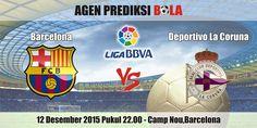 Prediksi Bola Barcelona vs Deportivo La Coruna 12 Desember 2015