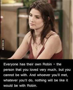 Cobie Smulders Who Cares How He Met The Mother I Want Aunt Robin Ted And Robin Should Still Be Together