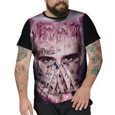 0d291a04f Camiseta Plus Size Lil Peep Star Shopping Trap Hellboy Jp  lilpeep   lilpeepmeme  lilpeepfanpage