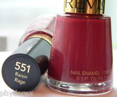 Revlon's Raisin Rage - this color was the best! (Still available on Amazon)