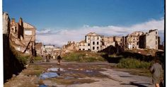 During World War II of Warsaw was destroyed. Dramatic snaps in colour show the centre of the city, including Śródmieście, Old Town and m. Jewish Ghetto, New York Photographers, Bad Memories, People Art, Warsaw, Color Show, Colour, World War Ii, Old Town