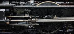 Locomotora, Vapor, Motor, Rueda