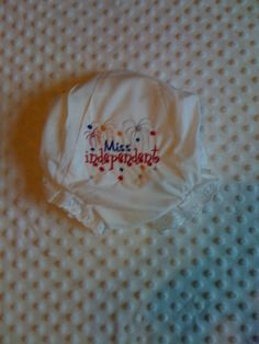 Patriotic Baby bloomer by Fancydancyboutique on Etsy, $9.00