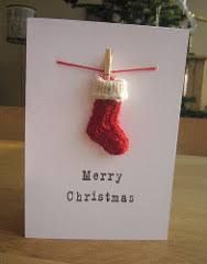 cards knitting - Google Search Xmas Crafts, Christmas Projects, Diy And Crafts, Handmade Christmas, Merry Christmas, Christmas Ornaments, Scrapbook Cards, Scrapbooking, Homemade Cards