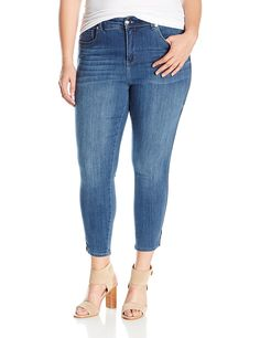 Melissa McCarthy Seven7 Women's Plus Size Ankle Jean ** This is an Amazon Affiliate link. Click on the image for additional details.