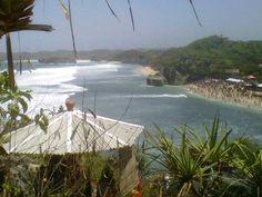 Indrayanti 해변 족 자카르타.. www.bararentcar.com