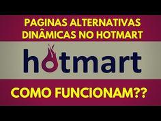 Como funcionam as paginas alternativas no hotmart