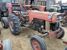 Massey Ferguson 165 tractor salvaged for used parts. This unit is available at All States Ag Parts in Downing, WI. Call 877-530-1010 parts. Unit ID#: EQ-23897. The photo depicts the equipment in the condition it arrived at our salvage yard. Parts shown may or may not still be available. http://www.TractorPartsASAP.com