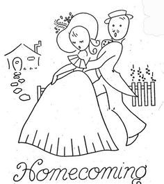 Hand Embroidery Pattern 3062 Gay Nineties Romance for Tea Towels Hand Embroidery Patterns, Embroidery Applique, Cross Stitch Embroidery, Cross Stitch Patterns, Embroidery Designs, Wedding Embroidery, Vintage Embroidery, Color Crayons, Romance