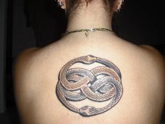 Neverending Story- Auryn Tattoo - if I do it will NEVER be this big
