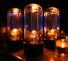 Glowing Tubes / Glühende Röhren  by David  , via 500px