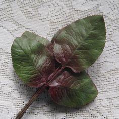 Vintage Millinery Rose Leaves 1950s Germany by 32NorthSupplies, $6.95