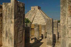 Pyramids: Chichen Itza - Mexico