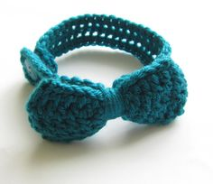 Baby Bowtie,turquoise crochet bowtie,accessories for baby, baby boy bow tie, crochet clothing for baby, photo prop, baby photo session
