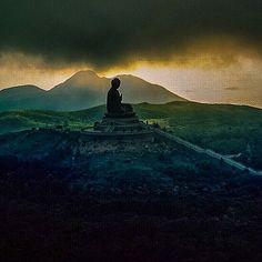 Photograph by Michael Yamashita @yamashitaphoto - Tan Tau Buddha, popularly…