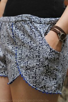 Pattern Hack • Coachella Shorts mit Taschen | Seemannsgarn • handmade