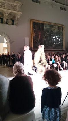 London 2016, Christopher Raeburn, Fashion Show, Fur Coat, Fur Coats, Fur Collar Coat