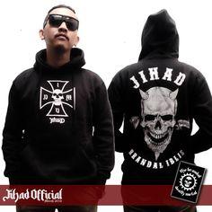 Official : Jihad Death Metal (Merch 2016) Hoodie : Brandal Iblis Size : M - L - XL - XXL (Import) Price : Rp. 235.000,- (Exclude Shipping) Plus : Sticker GrafTac TBDM (8cm x 10cm) Order : 085222090666 / 085723321707 Pin : 2A1DF4D1 / 54C5312B Instagram : https://www.instagram.com/jihadeathmetal/