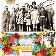 Value Pack: School Rulz Star Students, Digital Scrapbooking Layouts, Her Brother, Homeschool, Thing 1, Black And White, Black N White, Black White, Homeschooling
