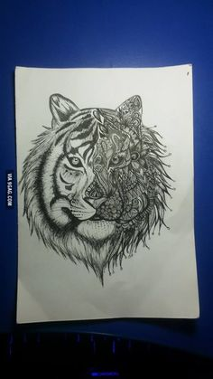 What do you think about my friend's drawing?