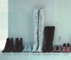 Tabi shoes from 1995-2003