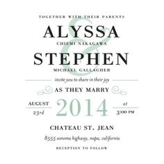 Poster Print - Signature White Textured Wedding Invitations - simplyput by Ashley Woodman - Umber - Brown : Front