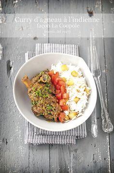 Curry d'agneau à l'indienne - Curry d'agnello all'indiana