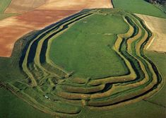 Maiden castle today - Types and History of Castles - Ancient Castles & Roman Forts