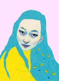 Each week we're spotlighting a collaboration between SO SO Happy and female illustrators we love. This week, we had the pleasure of interviewing artist Natalie Foss. SSH: Where are you from originally...