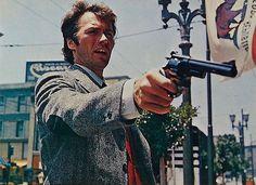 """Clint Eastwood en """"Harry el Sucio"""", 1971"""