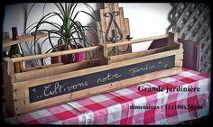 jardinière à suspendre. 60$ #diy #palet #palette #bois #wood #woodwork #atelier #studio #Montréal #tools #outils