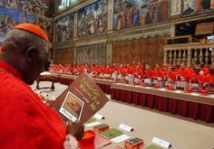 Required reading at the Papal Conclave