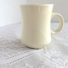 Restaurant Ware Coffee Cup by Delco by vintagepoetic on Etsy