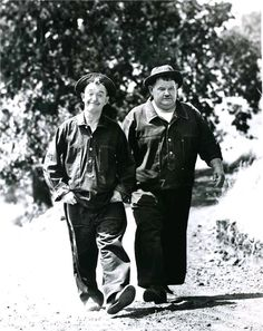 "Laurel and Hardy in ""Great Guns"" Talking Film 1941"
