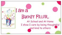 made these magnets to give to my students to remind them at home and at school we are bucket fillers! Check out the Magnets I created with Vistaprint! Personalize your own Magnets at http://www.vistaprint.com.  Get full-color custom business cards, banners, checks, Christmas cards, stationery, address labels…