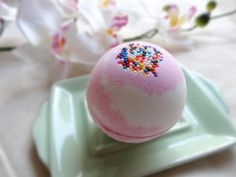 Cherry Cupcake Bath Bomb