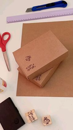 Easy Paper Crafts, Paper Crafts Origami, Diy And Crafts, Crafts For Kids, Book Binding Glue, Paper Hearts, Cookie Packaging, Love Craft, Paper Toys