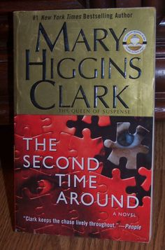 THE SECOND TIME AROUND by Mary Higgins Clark SUSPENSE THRILLER PB Book *~ Combined Shipping $1 ~* @Listia.com