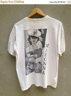 M vintage madona t-shirt rare