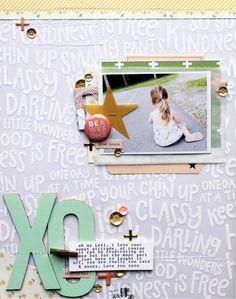 #papercrafting #scrapbook #layouts:
