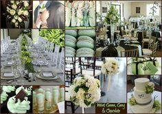 Chocolate Brown And Mint Green Wedding Ideas