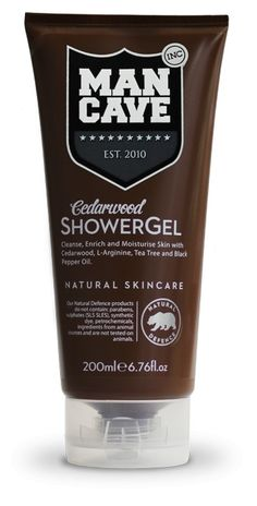 Mancave Cedar Shower Gel