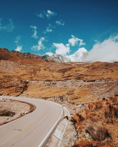 """""""a drive through the Peruvian Andes. this pass is 15,000 ft above sea level."""" -Photo and caption by Berty Mandagie (@bertymandagie on instagram)"""