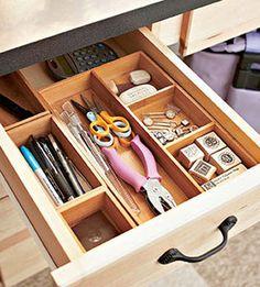 organize drawers