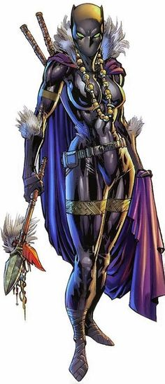 Black Panther - Marvel Comics - Shuri - Female