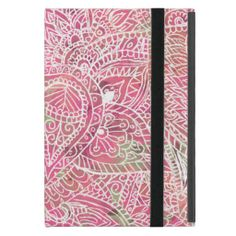 Girly Pink Tribal Abstract Floral Paisley Sketch Covers For iPad Mini today price drop and special promotion. Get The best buyDiscount Deals          Girly Pink Tribal Abstract Floral Paisley Sketch Covers For iPad Mini lowest price Fast Shipping and save your money Now!!...