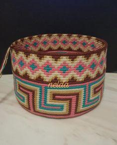 Tapestry Bag, Tapestry Crochet, Projects To Try, Handbags, Poufs, Purses, Model, Pattern, Mandala