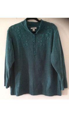 Woman Sweater Size 1x Plus By Dressbarn #dressbarn #Sweater