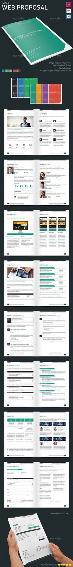 Whole Corporate Identity Proposal+ Invoice+ Letter Proposal - proposal templates